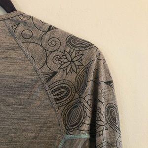 Smartwool Tops - Smartwool Merino Wool Grey Long Sleeve Baselayer